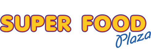 A theme logo of Super Food Plaza