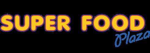 A logo of Super Food Plaza